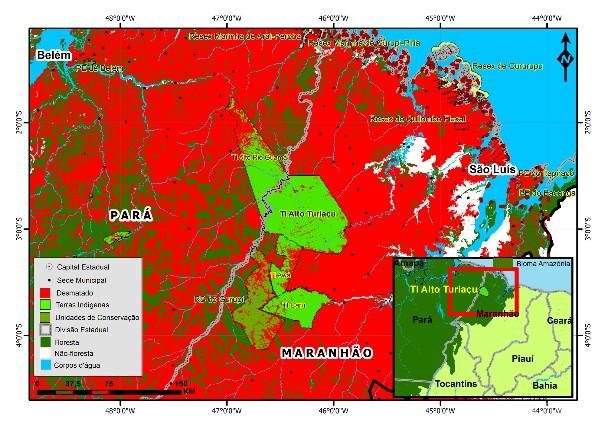 Resultado de imagem para Os Ka'apor no Maranhão