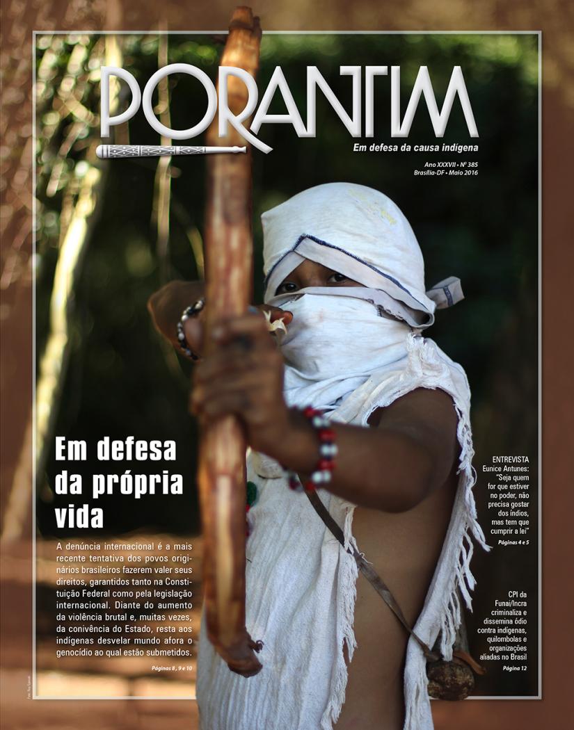 Jornal Porantim 385: Em defesa da própria vida