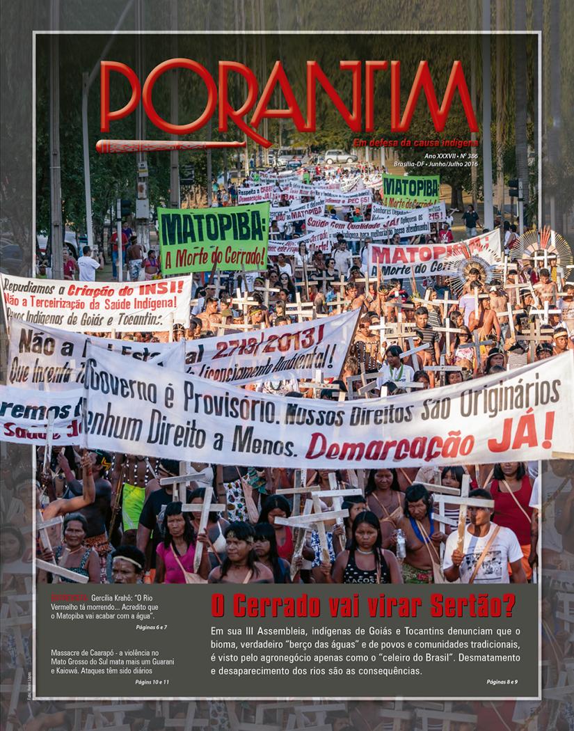 Jornal Porantim 386: O Cerrado vai virar Sertão?