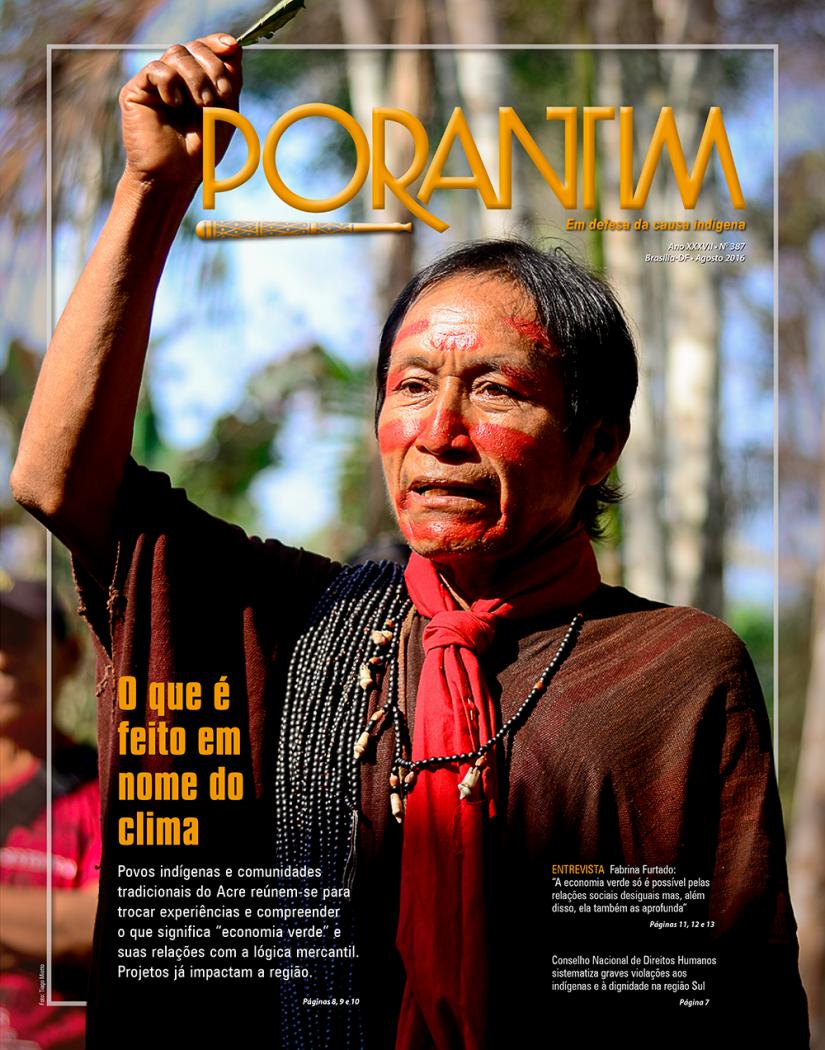 Jornal Porantim 387: O que é feito em nome do clima