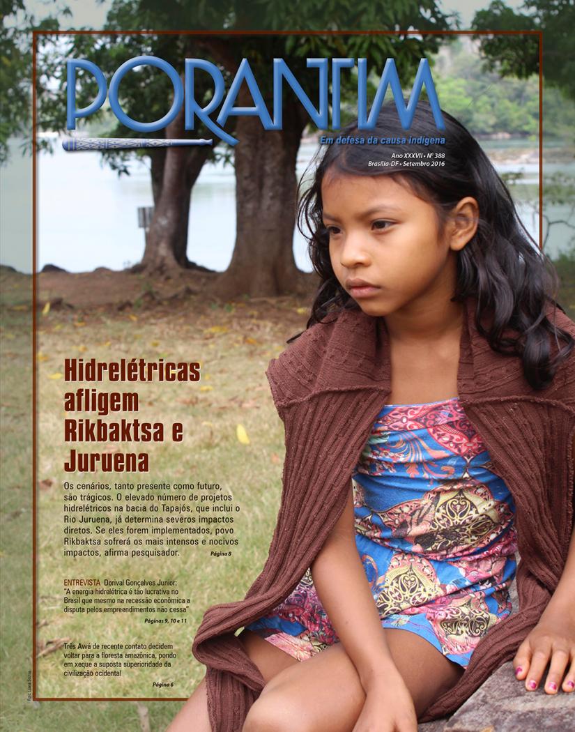 Jornal Porantim 388: Hidrelétricas afligem Rikbaktsa e Juruena