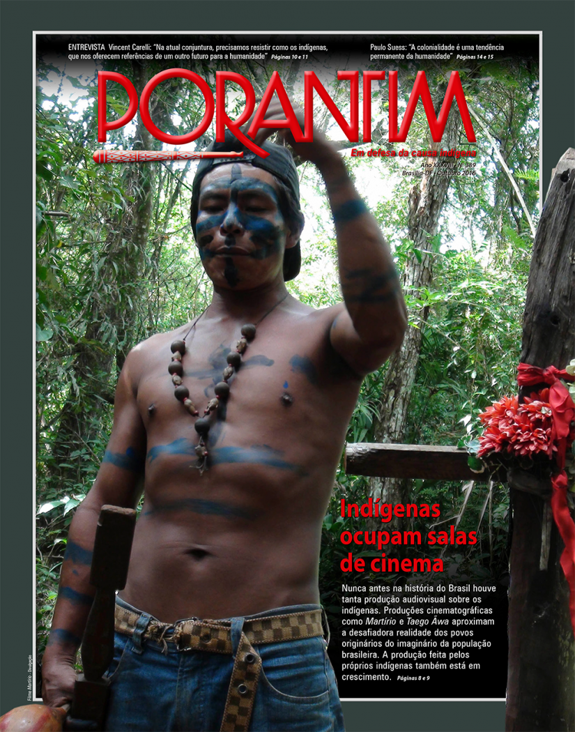 Jornal Porantim 389: Indígenas ocupam salas de cinema