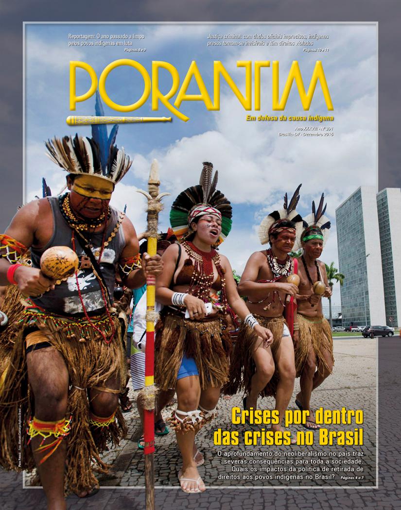 Jornal Porantim 391: Crises por dentro das crises no Brasil