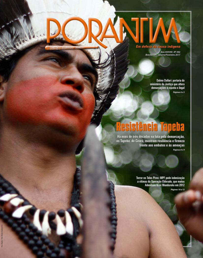 Jornal Porantim 392: Resistência Tapeba