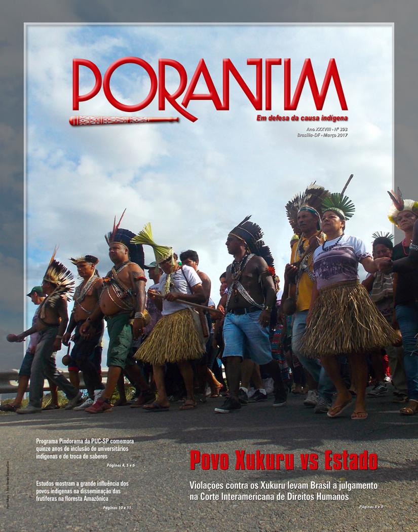 Jornal Porantim 393: Povo Xukuru vs Estado