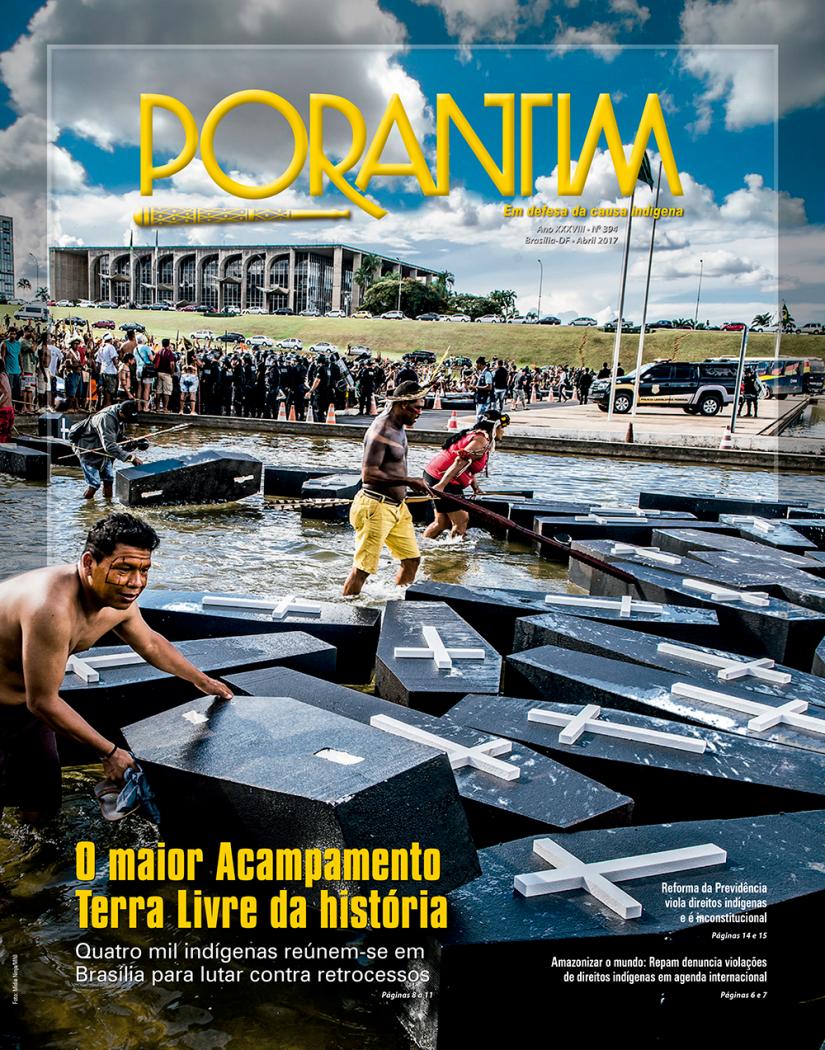 Jornal Porantim 394: O maior Acampamento Terra Livre da história