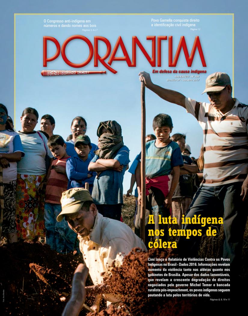 Jornal Porantim 399: A luta indígena nos tempos de cólera