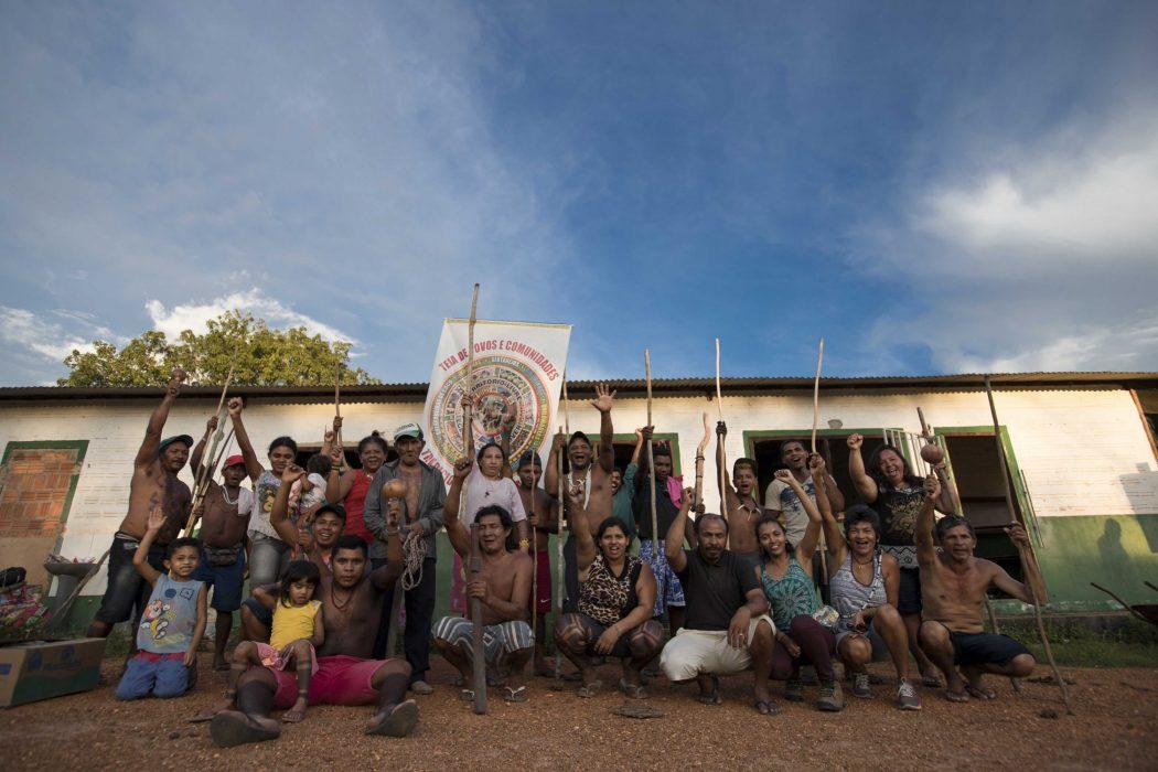 Ocupação Krenyê em Tuntum (MA). Fotos: Ana Mendes