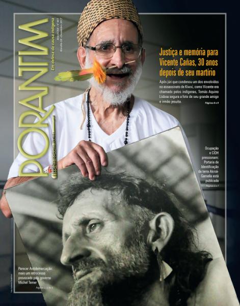 Jornal Porantim 401: Justiça e memória para Vicente Cañas, 30 anos depois de seu martírio