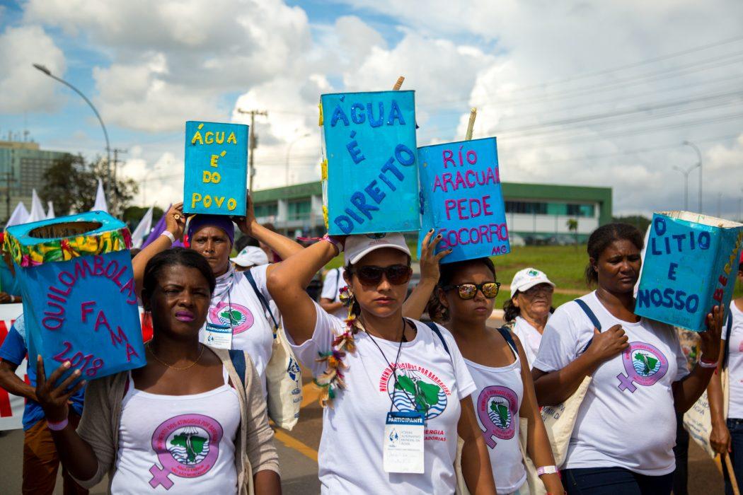 Marcha do FAMA. Foto: Guilherme Cavalli/Cimi