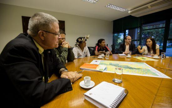 Em Brasília, denúncia também foi feita ao Ibama. Foto: Tiago Miotto/Cimi