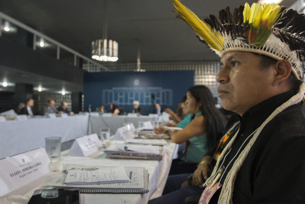 Reunião do CNPI em Brasília. Foto: Ana Mendes