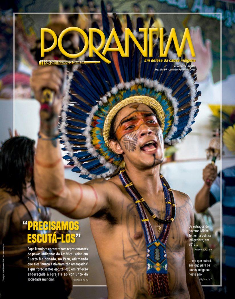 """Jornal Porantim 402: """"Precisamos escutá-los"""""""