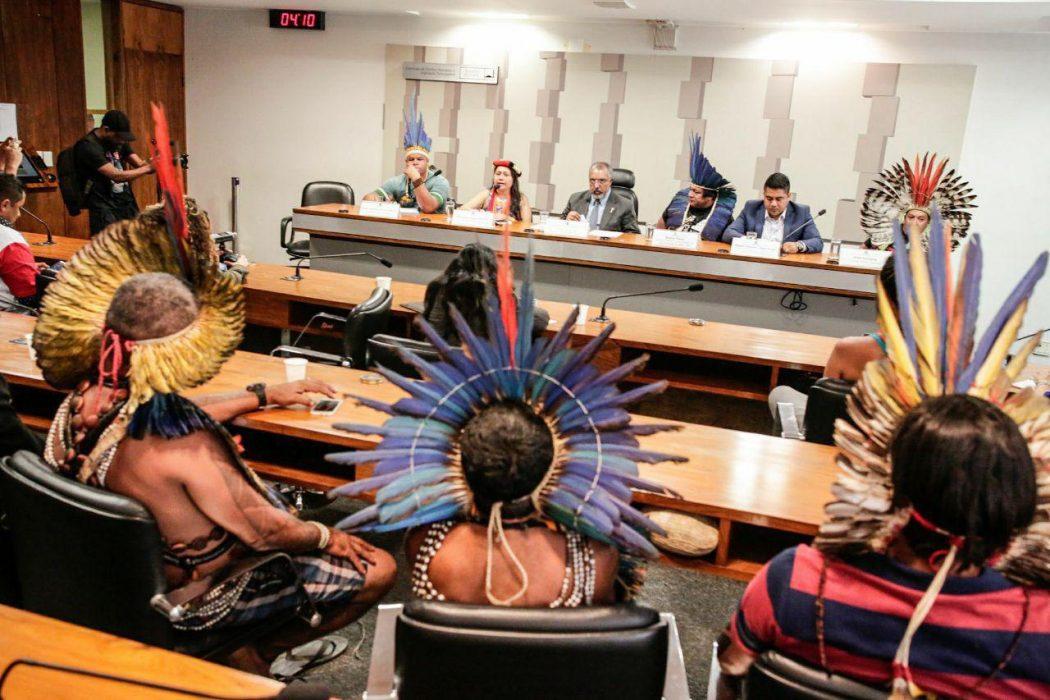 Audiência no Senado discute autonomia de indígenas e ameaças a seus direitos