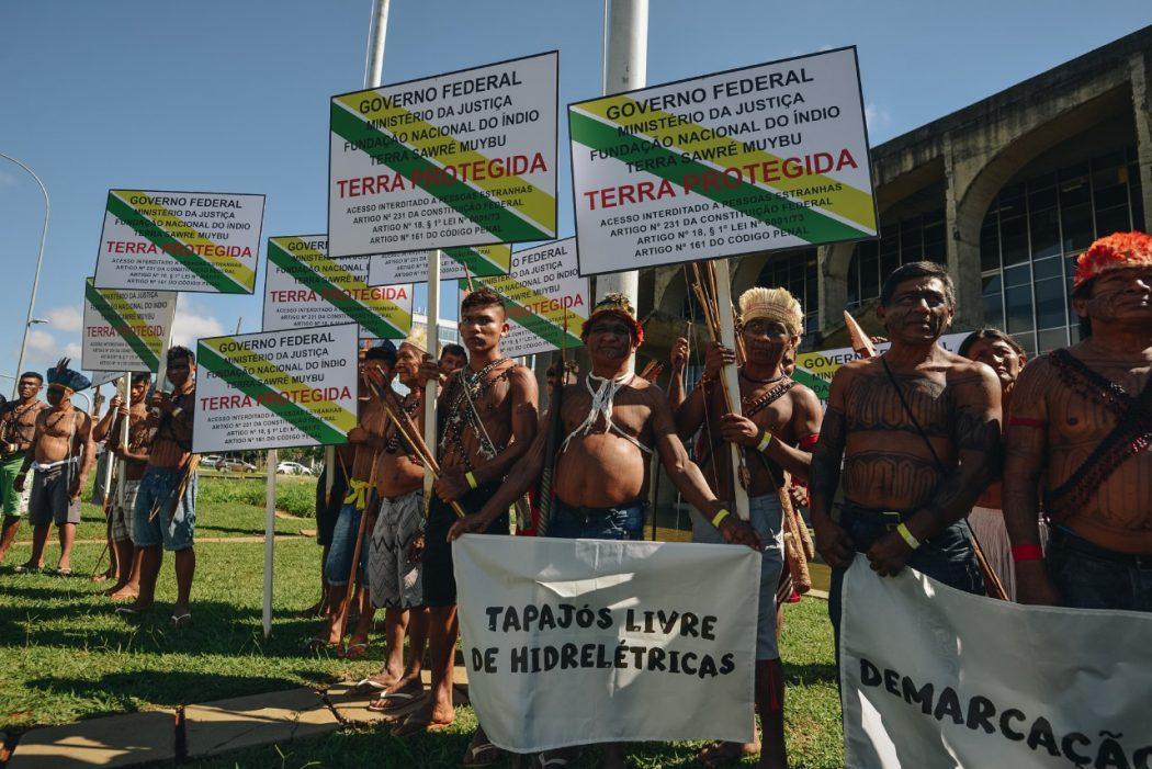 """Para garantir a demarcação, povo Munduruku lança o """"Mapa da Vida"""""""