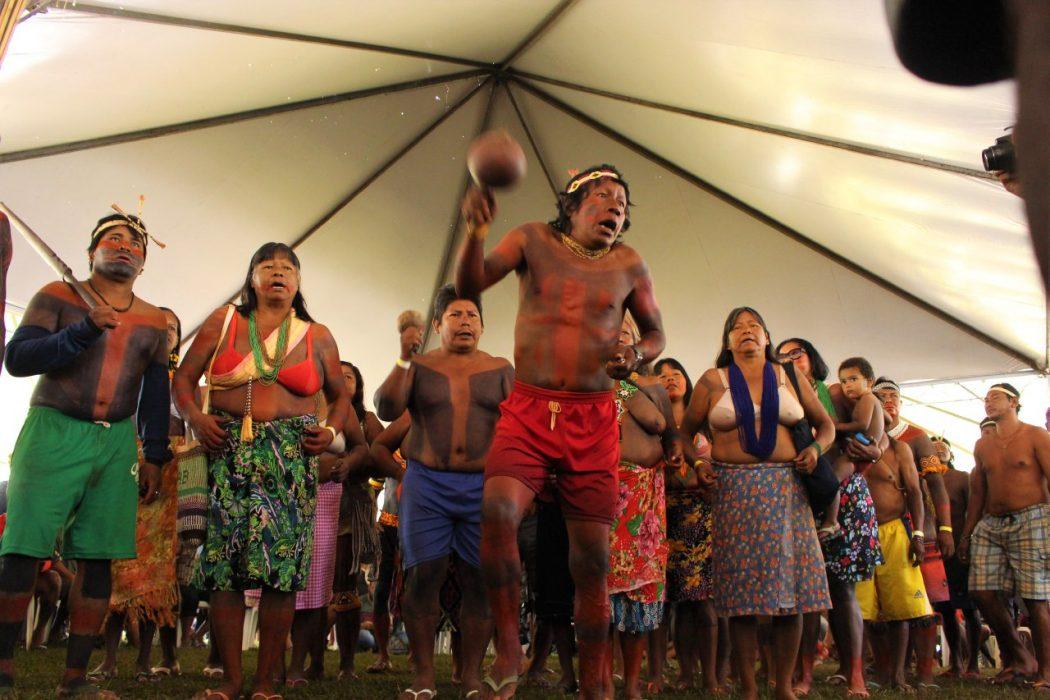 ATL reafirma resistência indígena por demarcação e protesta contra criminalização de lideranças