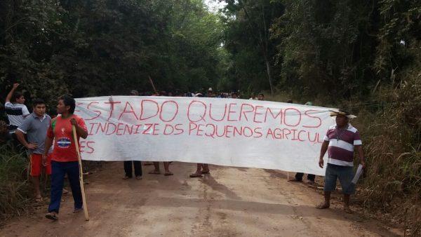 Os Kaingang reivindicam a conclusão da demarcação e o pagamento de indenização aos não indígenas que estão em seu território. Foto: Ivan César Cima/Cimi Regional Sul
