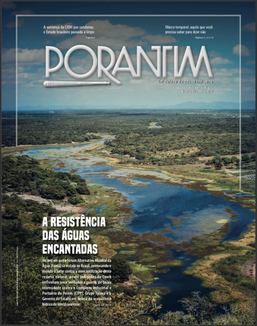 Jornal Porantim 403 : A Resistência das Águas Sagradas