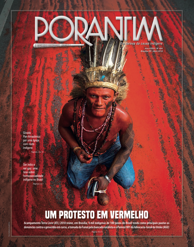 Jornal Porantim 404: Um Protesto em Vermelho