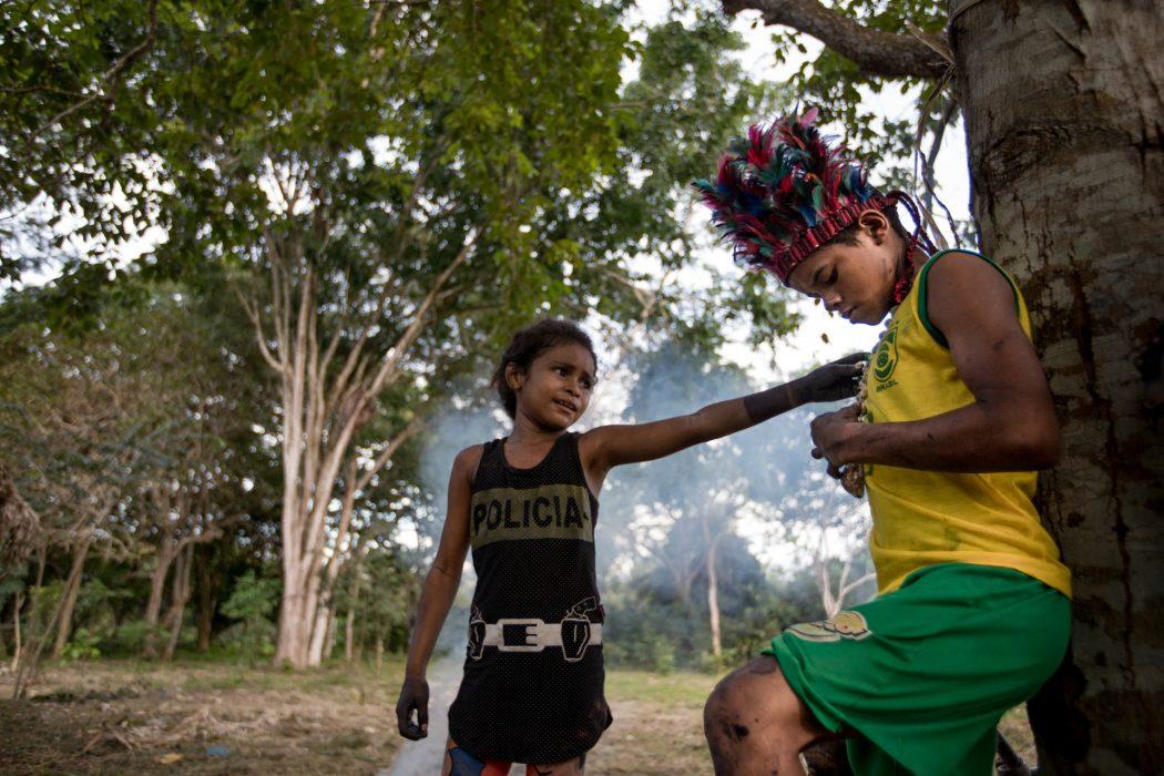 Em abril de 2017, os Akroá-Gamella foram severamente atacados no Maranhão. Foto: Ana Mendes