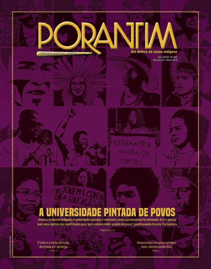 Jornal Porantim 405: A universidade pintada de povos