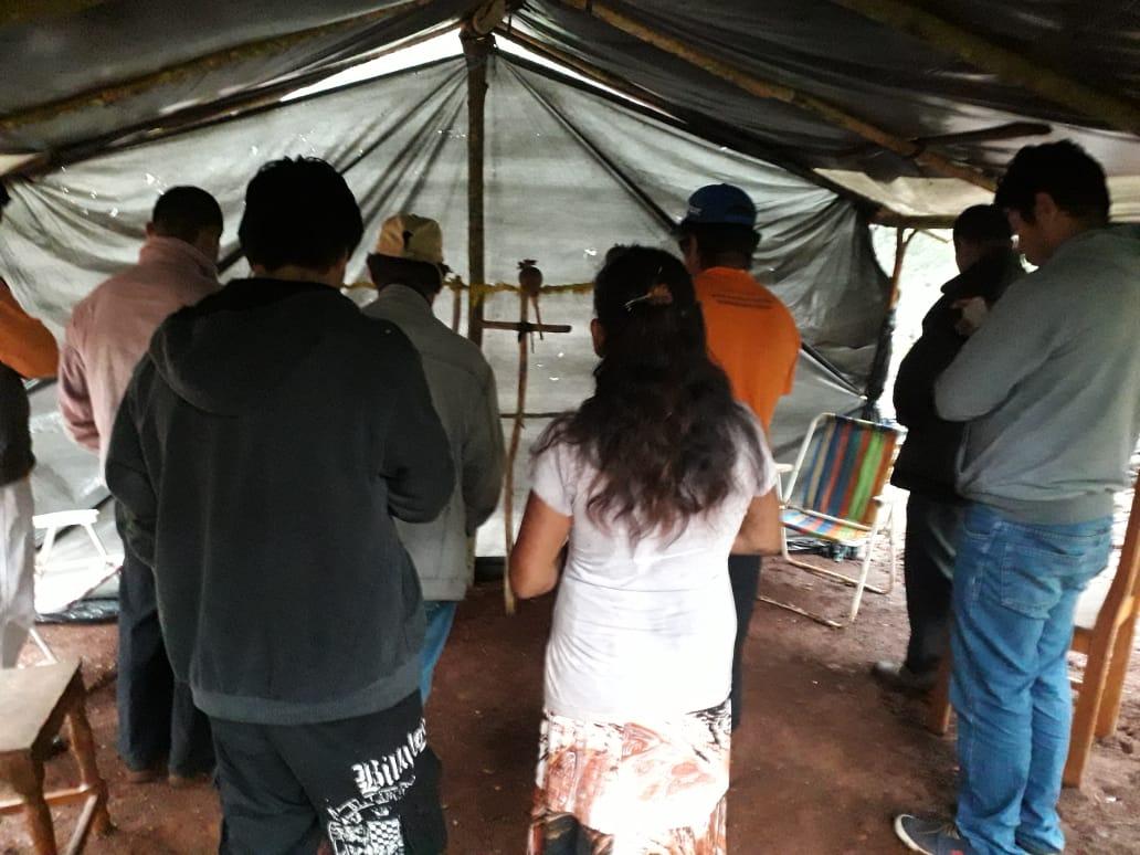 Após 30 anos de promulgação da Constituição, comunidade Avá-Guarani pode sofrer despejo a qualquer momento a pedido da Itaipu