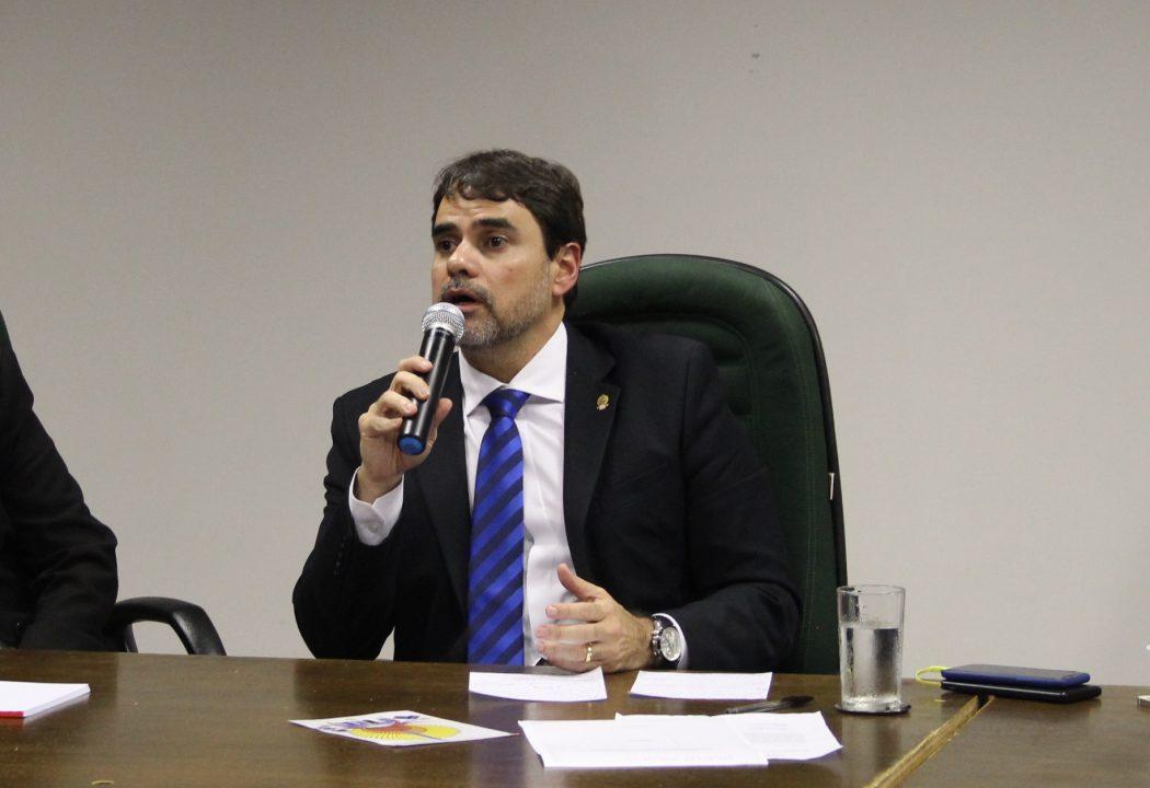 Presidente da Funai, Wallace Moreira Bastos. Foto: Michelle Calazans, Ascom Cimi