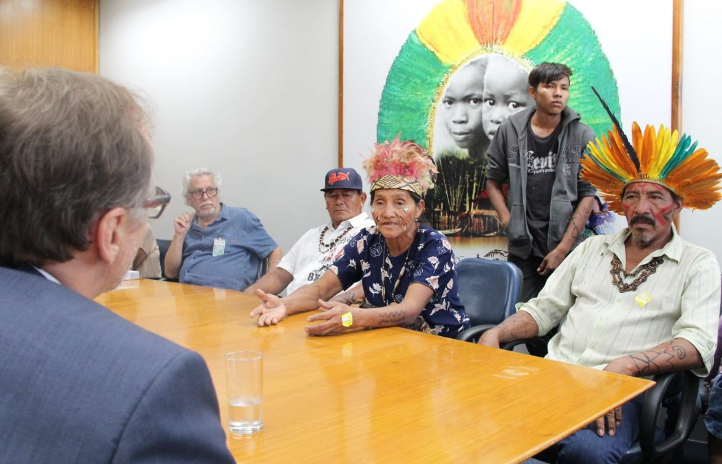 Liderança do povo Kinikinau, Agda Roberta. Foto: Michelle Calazans, Ascom Cimi