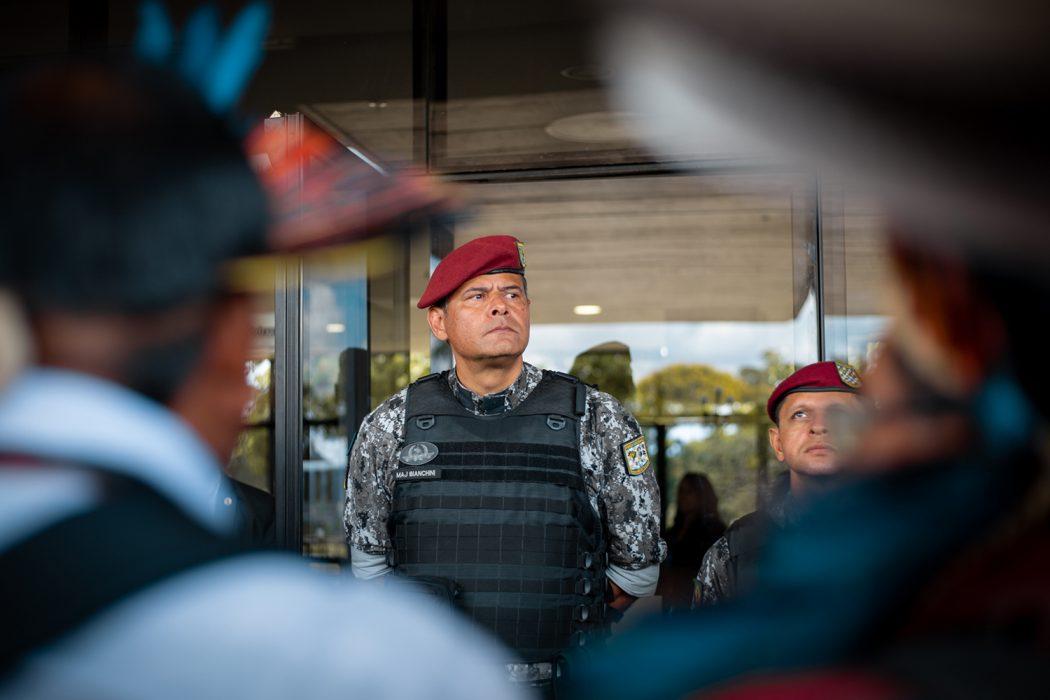 Equipe de transição do governo Bolsonaro não recebeu lideranças indígenas para discutir reivindicações do movimento. Foto: Tiago Miotto/Cimi