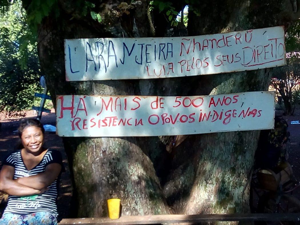 Enquanto aguardam demarcação, indígenas lutam por autonomia alimentar e liberdade para transitar e acessar serviços básicos. Foto: Cimi MS