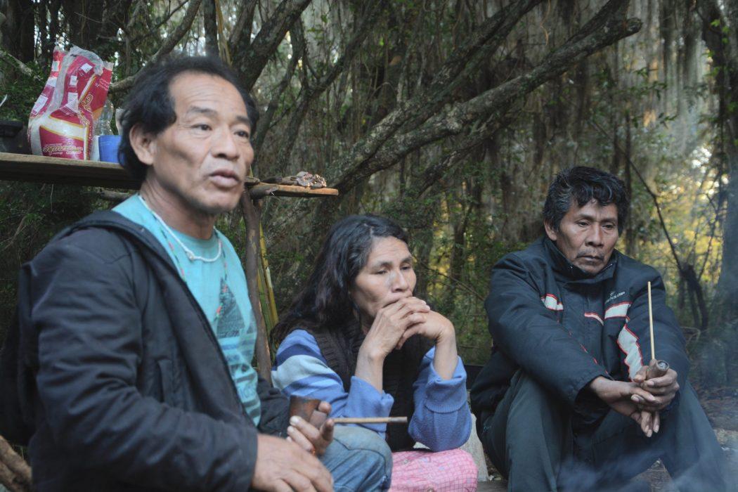 Registros da visita à Retomada Guarani Mbya no Arado Velho. Fotos por Douglas Freitas/Amigos da Terra Brasil