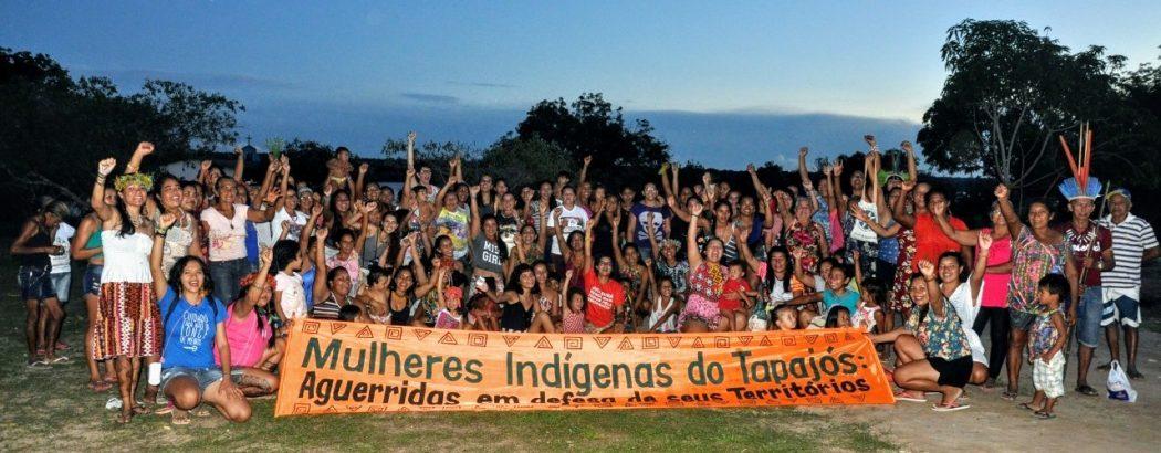 Mulheres indígenas do Baixo Tapajós