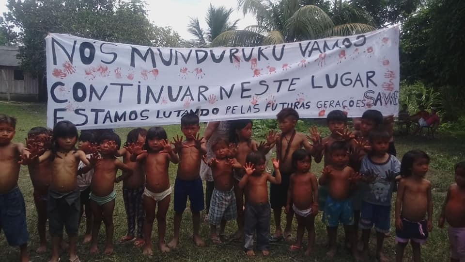 """""""Não aceitamos mudanças feitas sem consulta aos povos indígenas"""", afirmam mulheres Munduruku"""