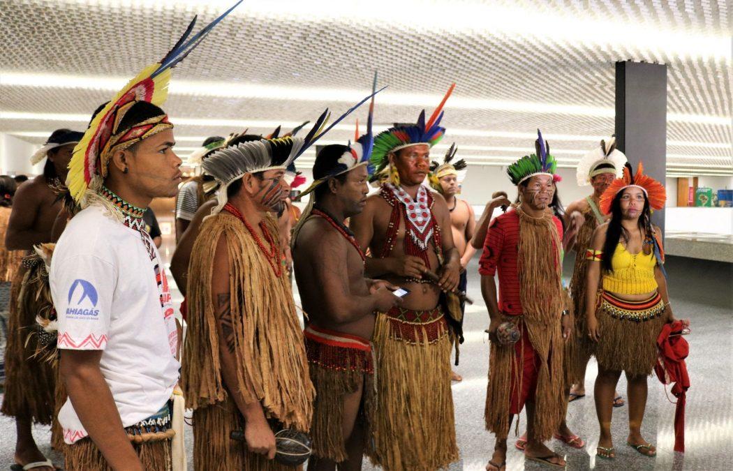 Os indígenas da delegação relatam que, sem terra e saúde, tendem a deixar de existir. Foto por Adilvane Spezia, da Ascom/Cimi