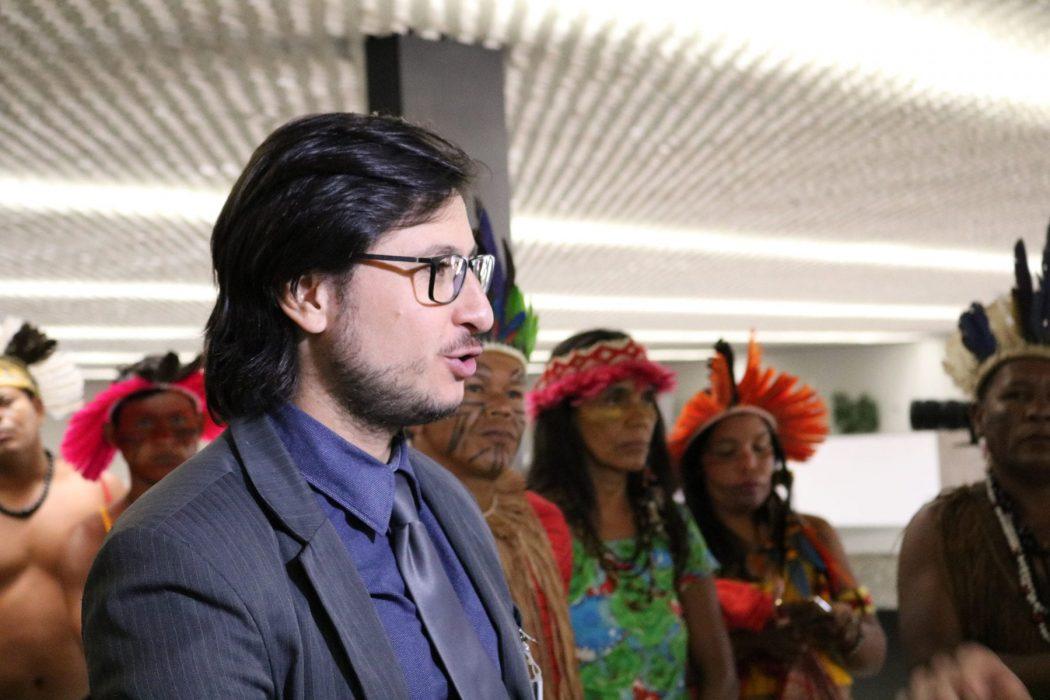 O advogado da comunidade indígena e do Cimi, Rafael Modesto dos Santos, afirma que esta decisão pode refletir positivamente em casos similares. Foto por Adilvane Spezia, da Ascom/Cimi