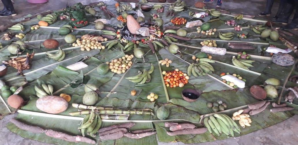 Conceitos de escassez e abundância foram discutidos durante Aula Viva em territórios indígenas amazônicos. Foto: Lídia Farias