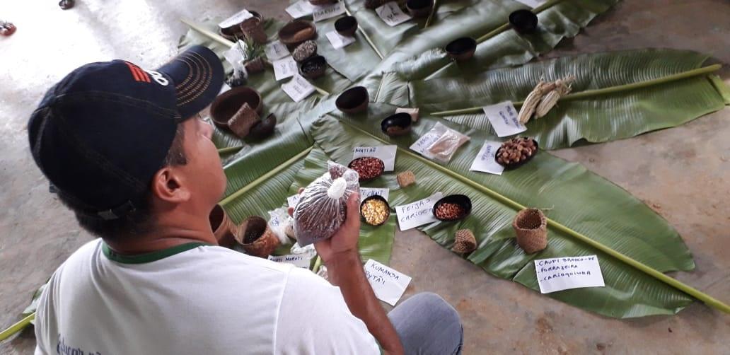 Aula Viva ocorreu em aldeias Tikuna localizadas no Brasil e na Colômbia. Foto: Lídia Farias