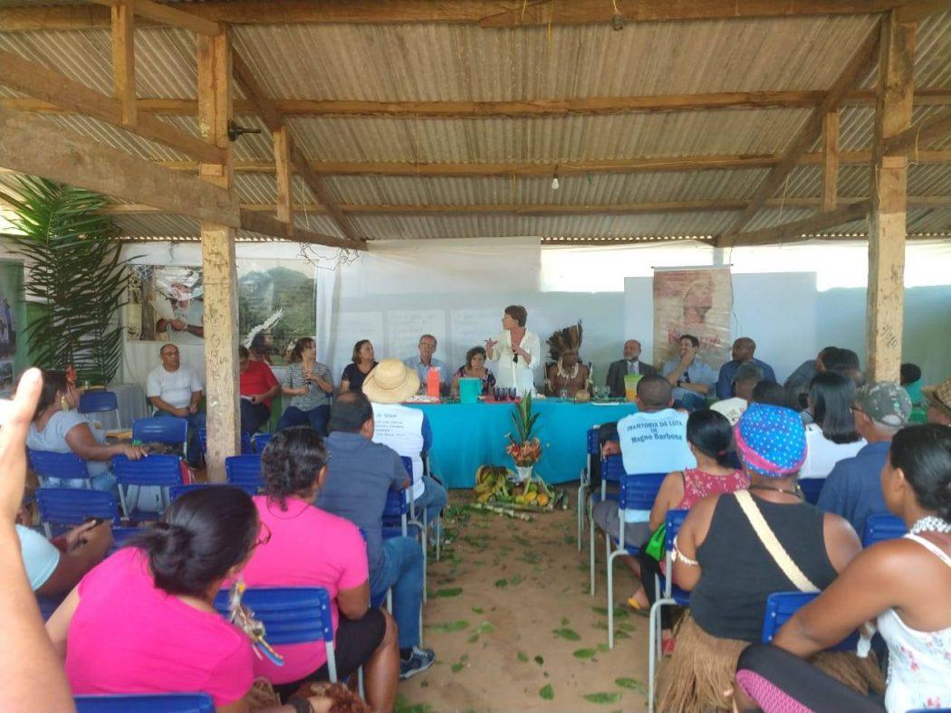CNDH reúne cerca de 150 membros da Terra Indígena Tupinambá de Serra do Padeiro