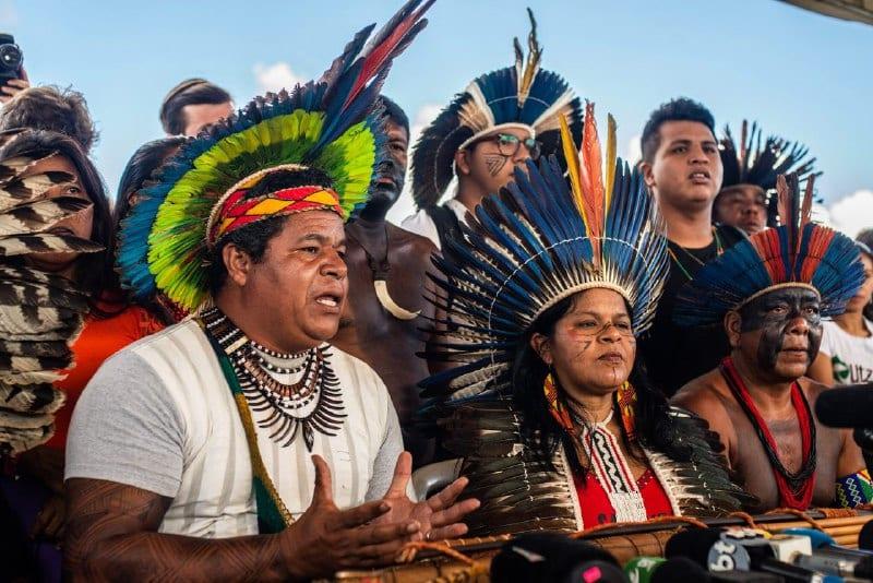 Mobilizado em Brasília, movimento indígena quer impedir retrocessos do governo Bolsonaro