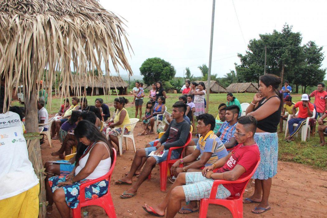 As ameaças que os povos tradicionais têm sido submetidos por meio da Medida Provisória (MP) 870/2019 foi um dos temas debatidos no Encontro. Foto: Laudovina Pereira - Regional CIMI GO/TO