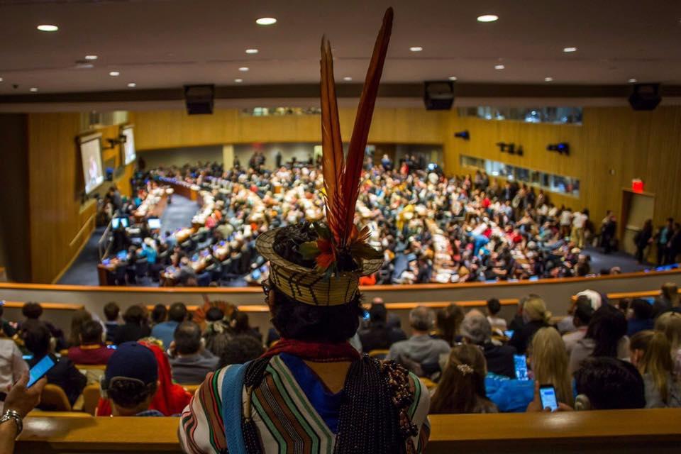 Delegação indígena denuncia governo Bolsonaro em Fórum Permanente da ONU