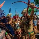 Marcha indígena em Brasília leva reivindicações ao Ministério da Saúde e exige Funai de volta ao MJ
