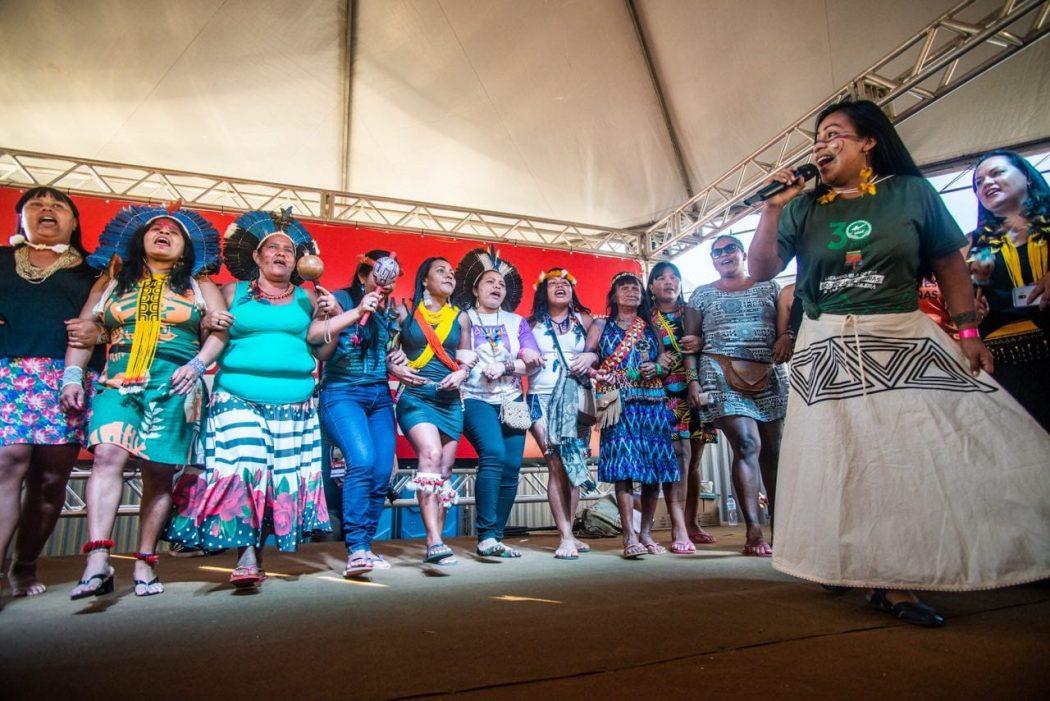 mulheresatl matheusalves - Mulheres em luta: as principais pautas da 1ª Marcha das Mulheres Indígenas