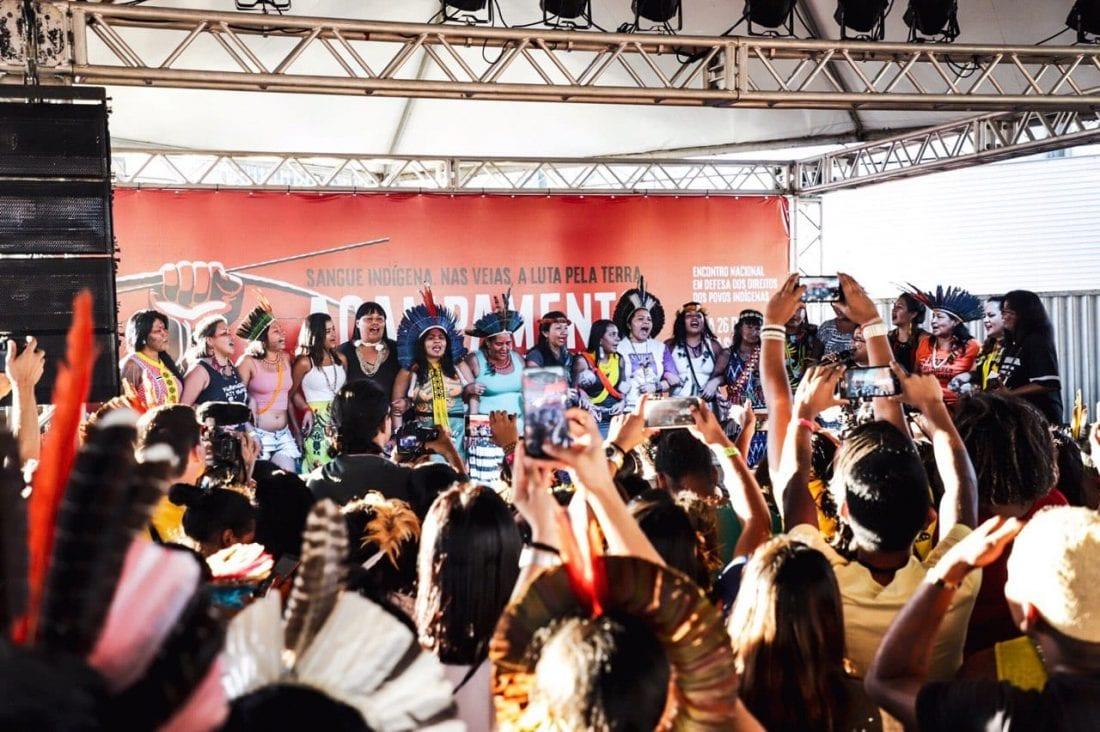 ATL 2019: mulheres indígenas fortes na luta