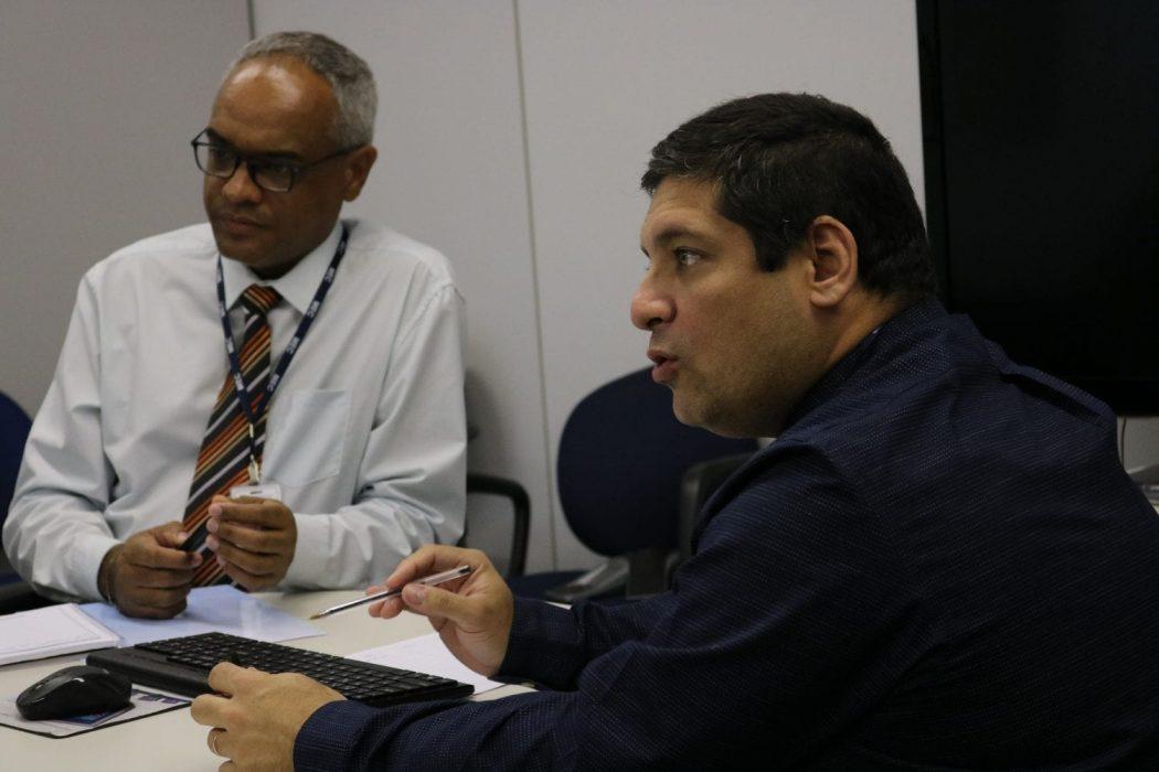 A delegação foi recebida por diretores do MEC que não tinham conhecimento da situação da educação em RR. Foto: Adi Spezia/Cimi
