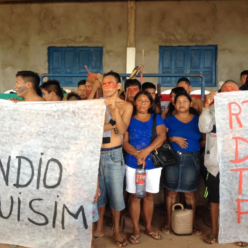 Povo Munduruku exige respeito ao seu protocolo de consulta. Foto: Alessandra Korap Munduruku