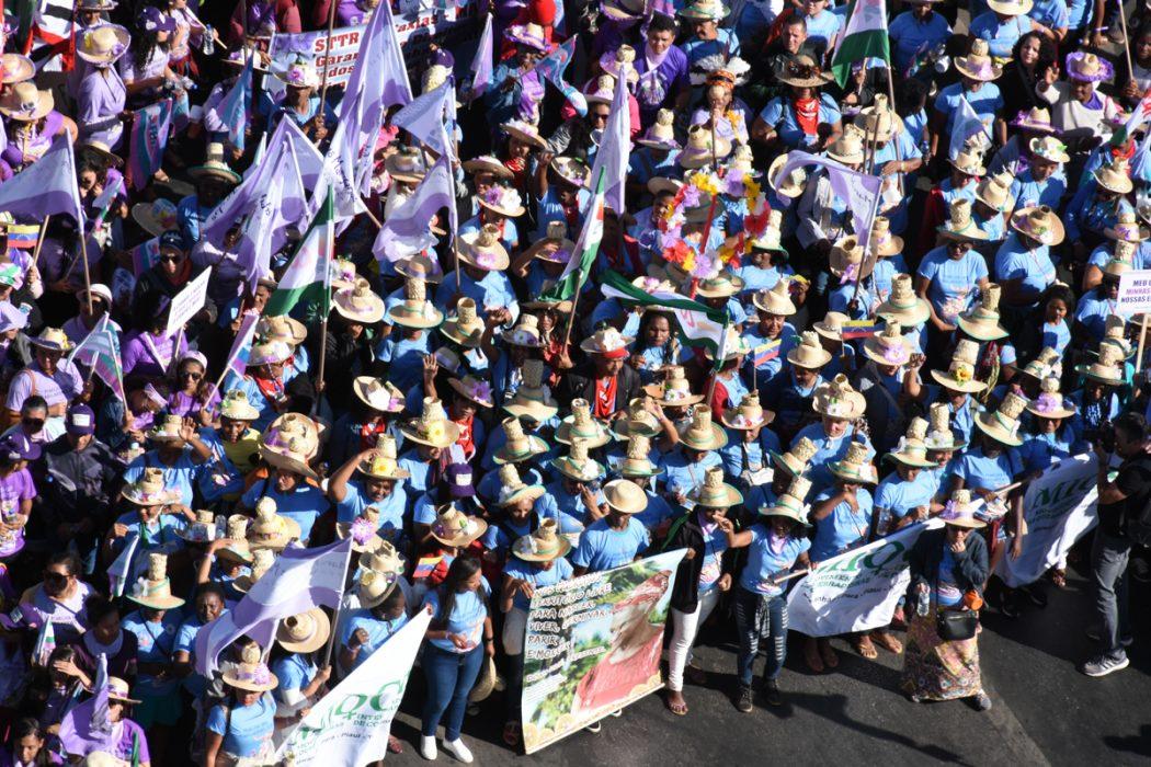 Marcha das Margaridas reuniu mulheres do campo, das águas e da floresta. Foto: Douglas Mansur