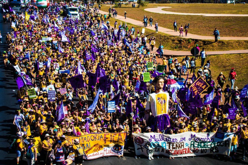 Marcha das Margaridas em Brasília. Foto: Mele Dornelas