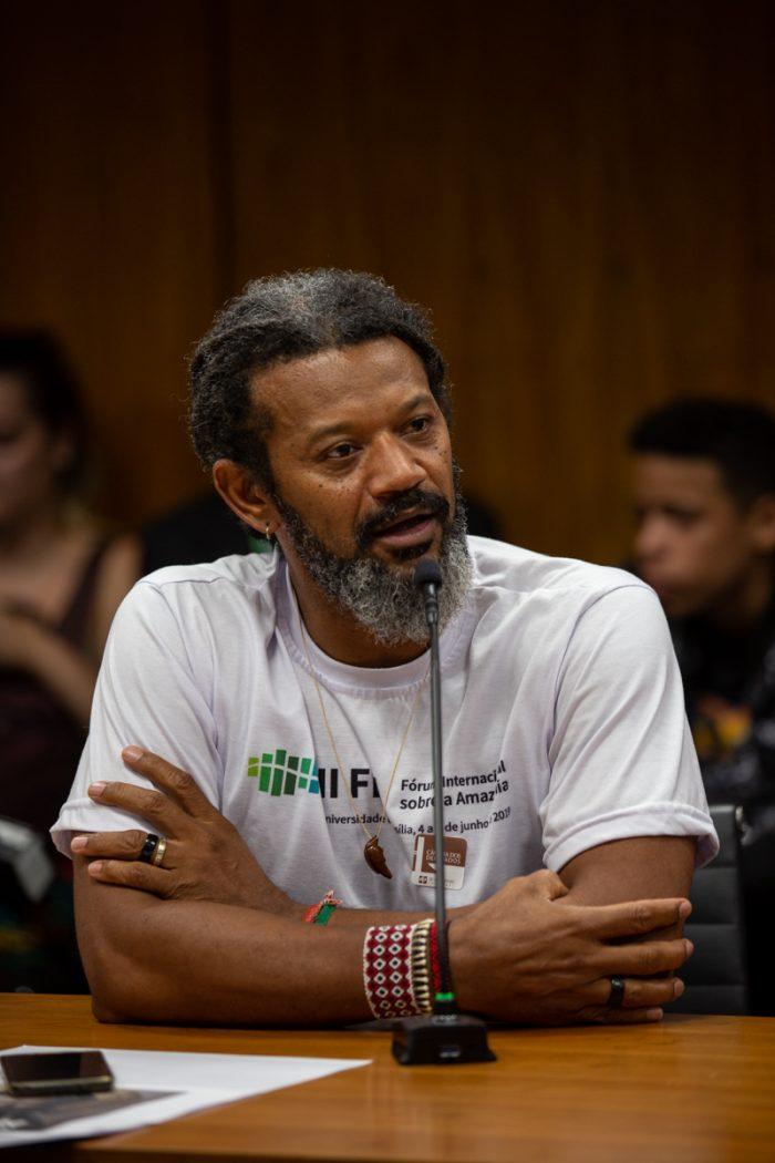 Gilberto Vieira dos Santos, do Cimi. Foto: Tiago Miotto/Cimi