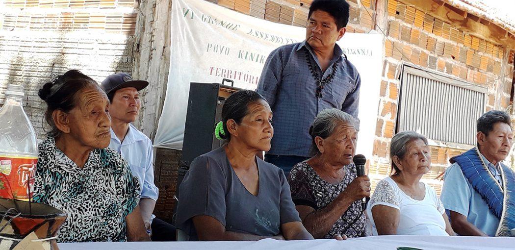 Sexta Grande Assembleia do povo Kinikinau. Foto: Lídia Farias/Cimi regional MS